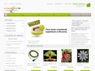 graines semences exotiques boutique en ligne jardinage